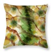 Lizard Skin Abstract Throw Pillow