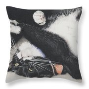 Lizzie - Cant Resist The Cuteness Throw Pillow