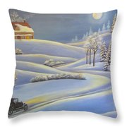 Lizzie's Almost Home  Throw Pillow