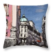 Ljubljana 04 Throw Pillow