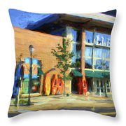 Ll Bean Store At The Promenade In Pa Throw Pillow