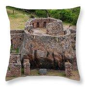 Llactapata Ruins Throw Pillow