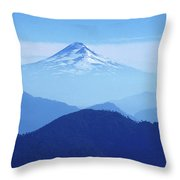 Llaima Volcano Chile Throw Pillow