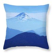 Llaima Volcano Chile Throw Pillow