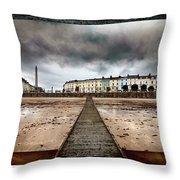 Llandudno North Shore Throw Pillow
