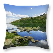Llyn Lydaw Throw Pillow