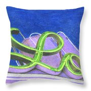 Lo Throw Pillow