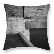 Load Ing Dock Throw Pillow