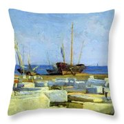Loading Marble Throw Pillow