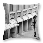 Loan Bike Throw Pillow