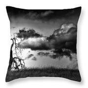 Loan Tree Throw Pillow
