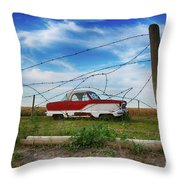 Loaner Aloner 2 Throw Pillow
