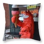Lobsta Throw Pillow