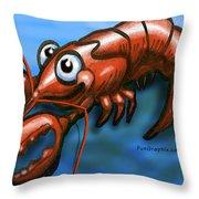 Lobster Throw Pillow