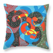 Lobster Party Throw Pillow