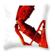 Lobster - The Left Side Throw Pillow