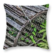 Lobster Trap Throw Pillow