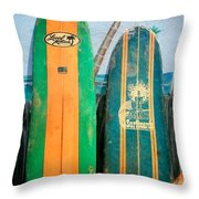 Local Motion Throw Pillow
