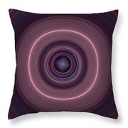 Local Subspace Vibrations Throw Pillow