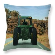 Local Traffic 907 - Painting Throw Pillow