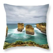 Loch Ard Gorge  In Victoria, Australia Throw Pillow
