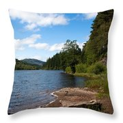 Loch Ard Throw Pillow