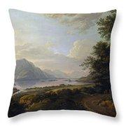 Loch Awe. Argyllshire Throw Pillow