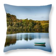 Loch Awe Reflections Throw Pillow