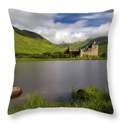 Loch Awe Stones Throw Pillow