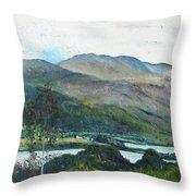 Loch Dun Luiche Donegal Ireland 2916 Throw Pillow