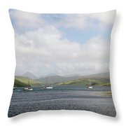Loch Harport At Carbost Throw Pillow