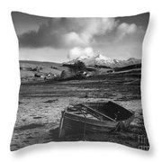 Loch Harport Throw Pillow