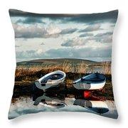 Loch Harray Dawn Iv Throw Pillow