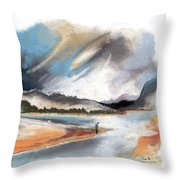 Loch Laggan 03 Throw Pillow