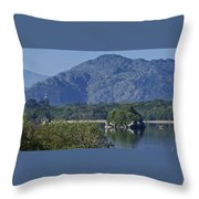 Loch Leanne Killarney Ireland Throw Pillow