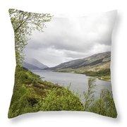 Loch Levern Throw Pillow