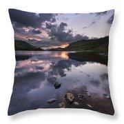 Loch Lubhair Throw Pillow