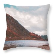 Loch Lubnaig Throw Pillow