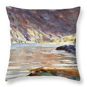 Loch Moidart Throw Pillow