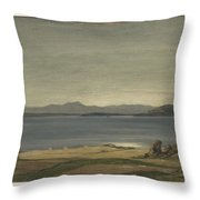 Loch Nell, 1930-1935, By Sir David Cameron 2 Throw Pillow