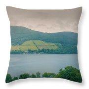 Loch Ness Landscape, Throw Pillow