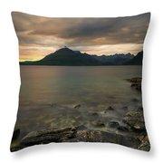 Loch Scavaig Stones Throw Pillow