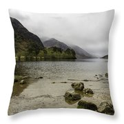 Loch Shiel Throw Pillow