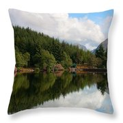 Lochan Glencoe Throw Pillow
