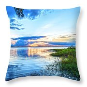 Lochloosa Lake Throw Pillow