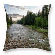 Lochsa Headwaters Throw Pillow