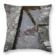 The Key Part Of The Lock Throw Pillow