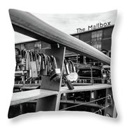 Lock Of Love Throw Pillow