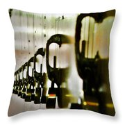 Lock Up Throw Pillow