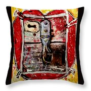 Locked Heart  Throw Pillow